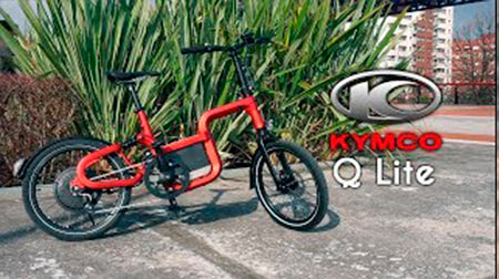 La e-bike más silenciosa: KYMCO Q Lite