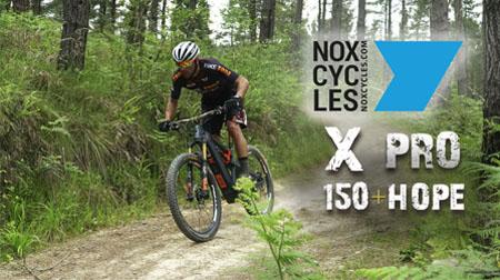 Placer y diversión asegurados con la e-trail NOX X PRO 150+HOPE