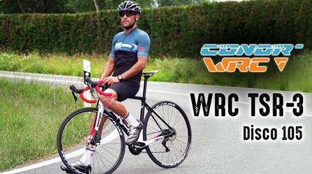 Conor WRC TSR 3 Disco 105. La mejor road al mejor precio posible