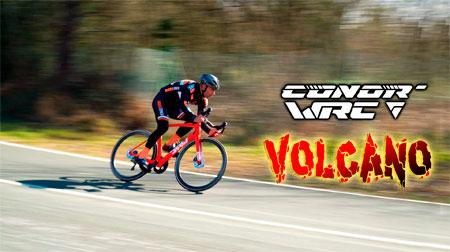 CONOR provoca una erupción con su road aero WRC Volcano Disc