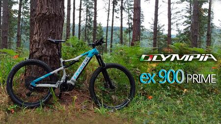 La super e-MTB Olympia ex900 Prime