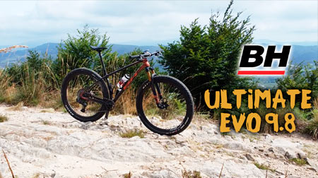 BH Ultimate EVO 9.8 diseñada para el cross country