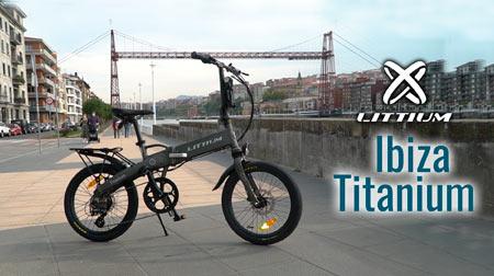 e-Bike Littium Ibiza Titanium, tecnología y estilo propio