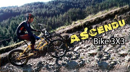 Ascendu 3x3, la bici que sube pendientes imposibles.