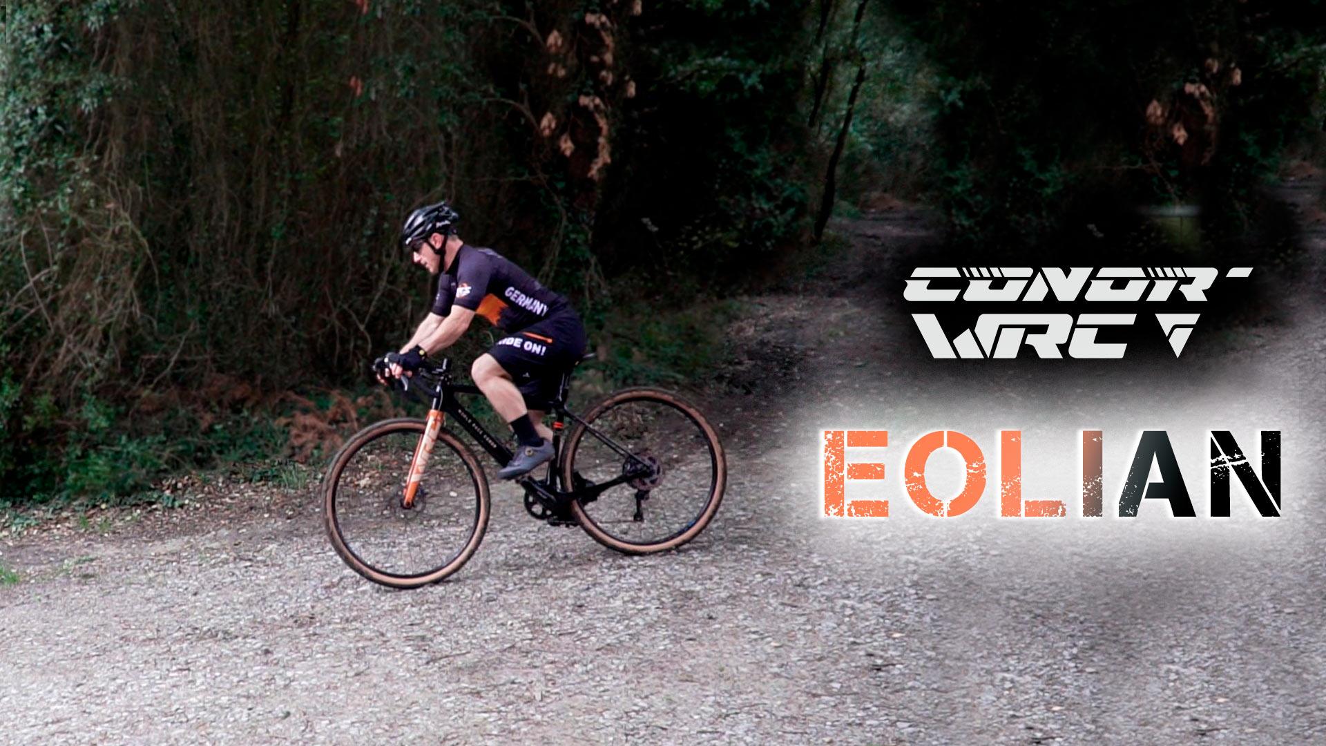 CONOR WRC EOLIAN una gravel de 2021
