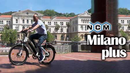 Potente e-bike alemana NCM Milano Plus